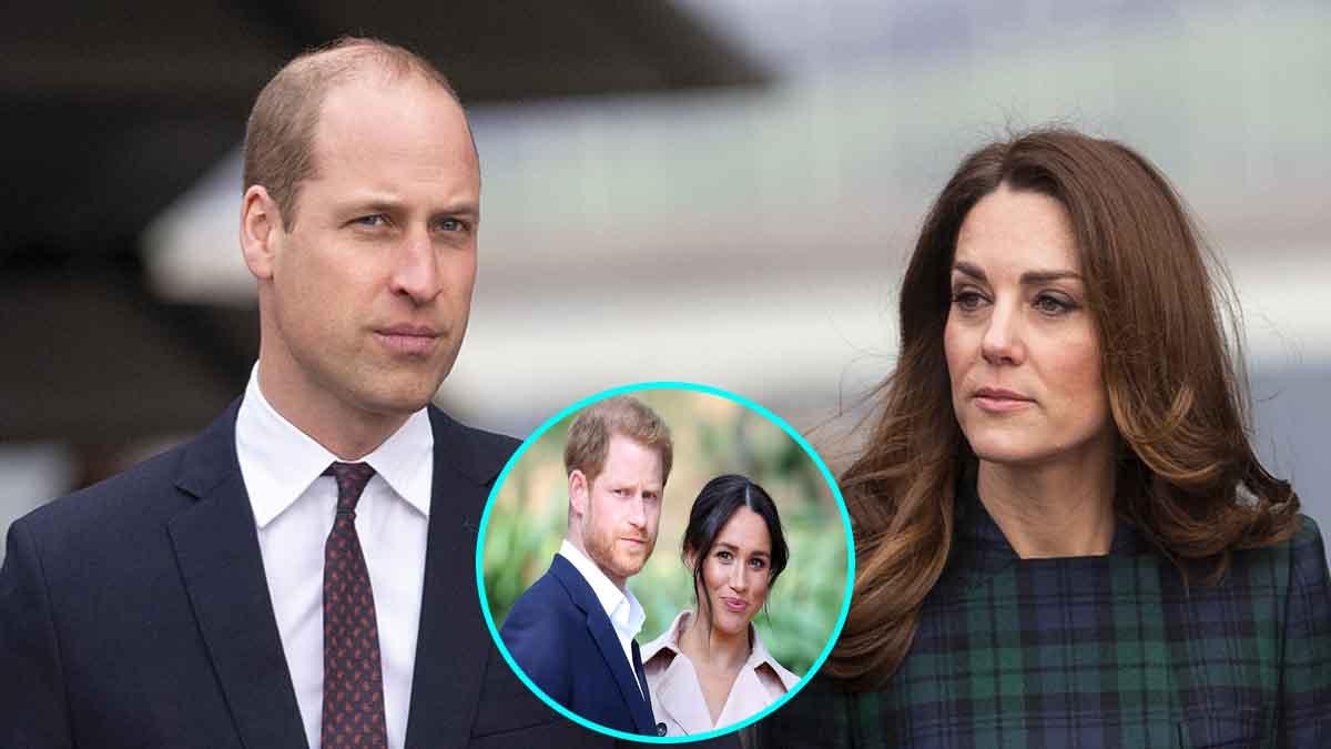 Meghan Markle diagnostiquée narcissique bipolaire Kate Middleton et William s'inquiètent pour Harry qui reste sous le joug de sa femme