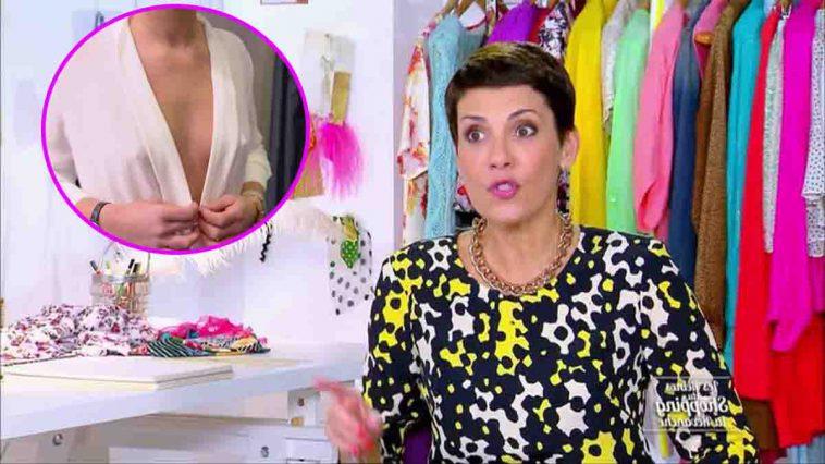 Les Reines du Shopping : Cette candidate en body transparent très sexy choque les téléspectateurs !
